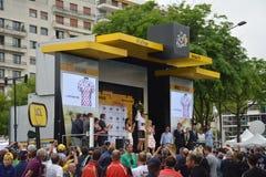 El Tour de France 2016 enoja Imágenes de archivo libres de regalías