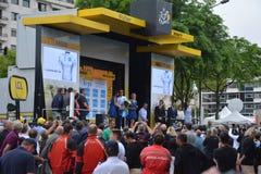 El Tour de France 2016 enoja Foto de archivo libre de regalías