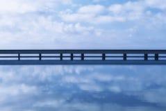El Toyo桥梁在阿尔梅里雅,安达卢西亚 图库摄影