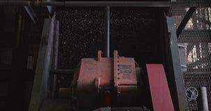El trabajo de la fábrica del carbón Enriquecimiento en la fabricación Movimiento de la investigación mecánica del mineral Planta  metrajes