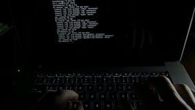 El trabajo programado del codificador del cálculo del programa del código de la codificación escribe al pirata informático del so almacen de video