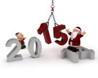 El traer en el Año Nuevo Imagen de archivo libre de regalías