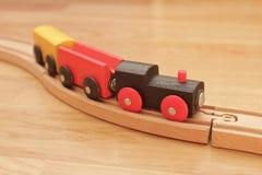 El traing de madera Imagen de archivo libre de regalías