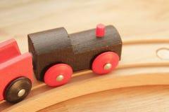 El traing de madera Fotografía de archivo libre de regalías