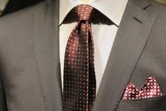 El traje de los hombres Imagen de archivo libre de regalías