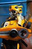 El traje del robot del abejorro se realiza Imágenes de archivo libres de regalías