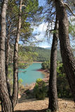 El Tranco dam,Cazorla nature reserve,Jaen,Spai Royalty Free Stock Photography