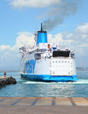 El transbordador. Fotos de archivo