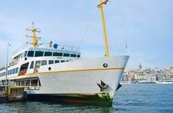 El transbordador blanco Foto de archivo libre de regalías