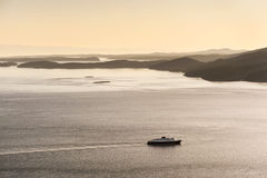 El transbordador de Alaska Fotografía de archivo libre de regalías