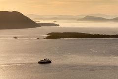 El transbordador de Alaska Fotos de archivo