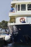 El transbordador de Brijuni Fotos de archivo