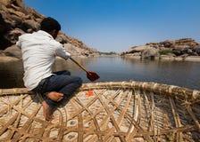 El transbordador de la cesta Fotos de archivo