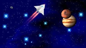 El transbordador espacial foto de archivo