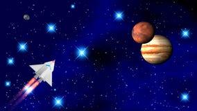 El transbordador espacial foto de archivo libre de regalías