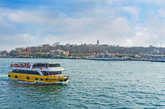 El transbordador turístico Foto de archivo