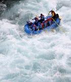 El transportar en balsa del río Imagen de archivo