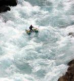 El transportar en balsa del río Foto de archivo libre de regalías