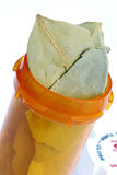 El tratamiento holístico tiene gusto de la sopa herbaria Fotos de archivo libres de regalías