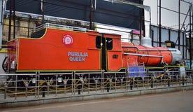 El tren de la REINA de la HERENCIA PURULIA, manufacturado en París, en 1948, encargó en 1953 en la India fotografía de archivo