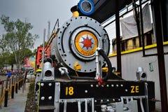 El tren de la REINA de la HERENCIA PURULIA, manufacturado en París, en 1948, encargó en 1953 en la India imagen de archivo libre de regalías