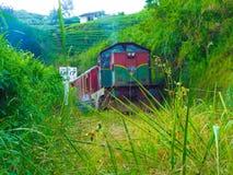 El tren de Udarata Manike Foto de archivo libre de regalías