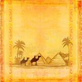Tren del camello ilustración del vector