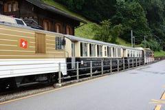 El tren del chocolate Imagenes de archivo