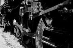 El tren viejo fotos de archivo