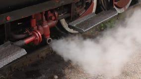 El tren viejo del motor de vapor metrajes