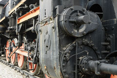 El tren viejo del motor de vapor Imagenes de archivo