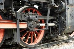 El tren viejo del motor de vapor Fotos de archivo