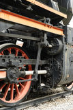El tren viejo del motor de vapor Imagen de archivo