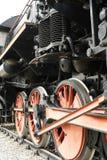 El tren viejo del motor de vapor Fotos de archivo libres de regalías