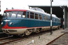 El tren viejo nombró el camello de Kameel que era el vehículo de la junta directiva de los ferrocarriles holandeses Imagen de archivo libre de regalías