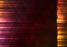 El triángulo caliente del color y la barra cuadrada resumen el fondo Imagen de archivo