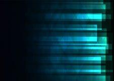El triángulo del verde azul y la barra cuadrada resumen el fondo Foto de archivo