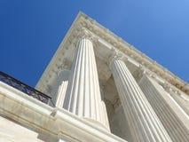 El Tribunal Supremo de Estados Unidos Imagen de archivo