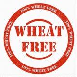 El trigo libera el sello fotografía de archivo libre de regalías