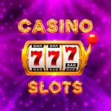 El triunfo grande ranura el casino de 777 banderas Foto de archivo