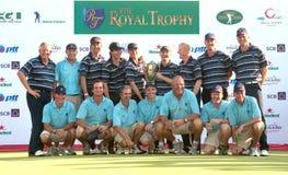 El trofeo real 2010 foto de archivo