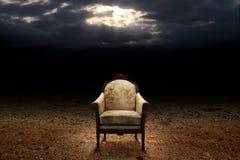 El trono Fotografía de archivo libre de regalías