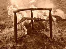 El trono del diablo Fotografía de archivo libre de regalías