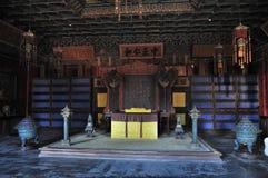 El trono del emperador Fotografía de archivo libre de regalías