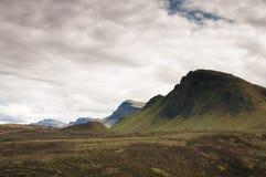El Trotternish Ridge Fotografía de archivo