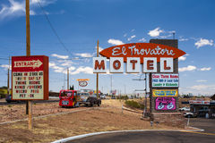 El Trovatore Route 66 Stock Photography