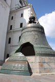 El Tsar más grande Bell de Moscú Kremlin Fotos de archivo libres de regalías