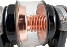 El tubo de vacío Fotografía de archivo
