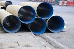 El tubo del abastecimiento de agua Fotografía de archivo