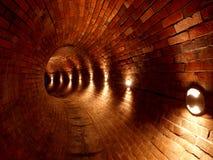 El tubo histórico del canal de agua Imágenes de archivo libres de regalías